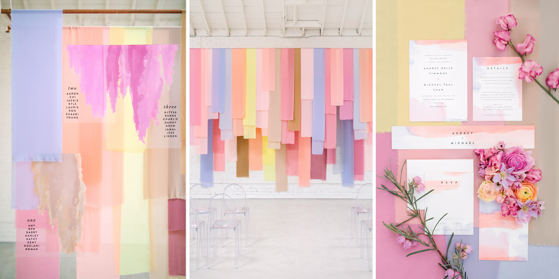 modern pastels