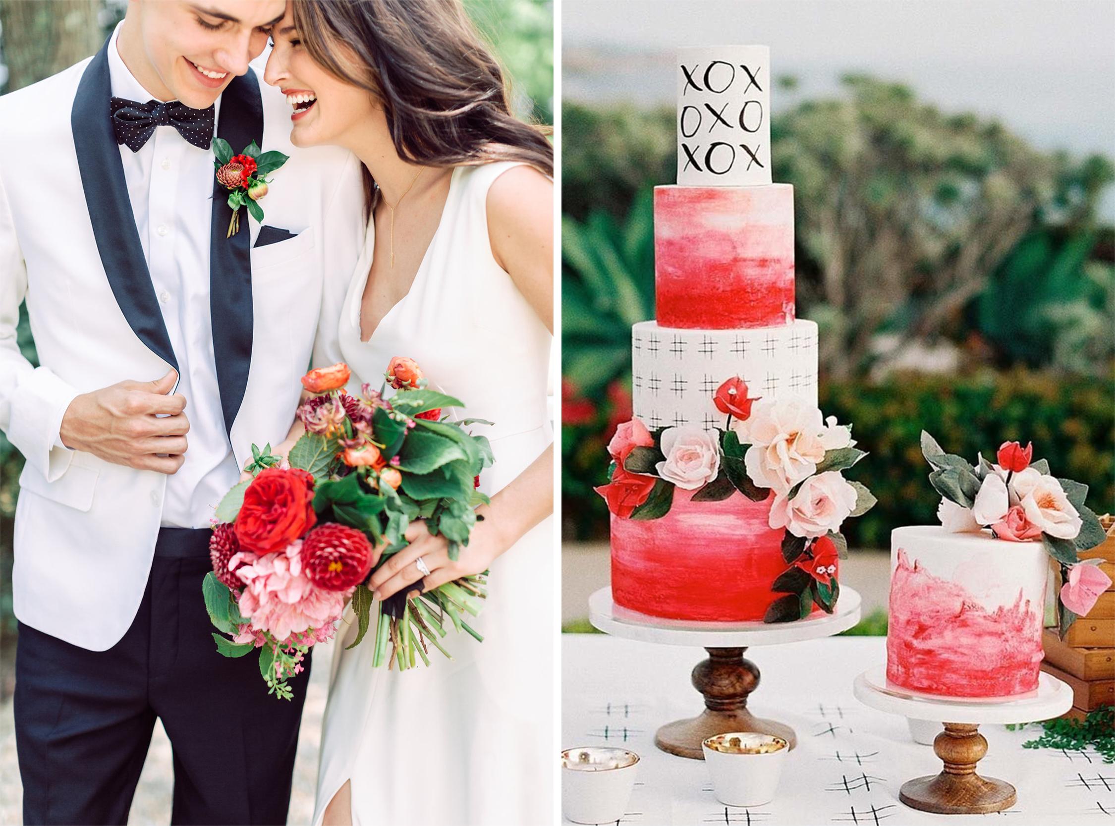 Valentine Wedding Details