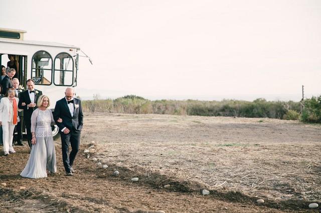 Wedding guest shuttle