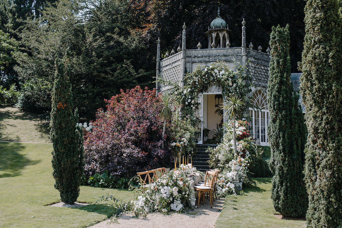 Sezincote House Garden