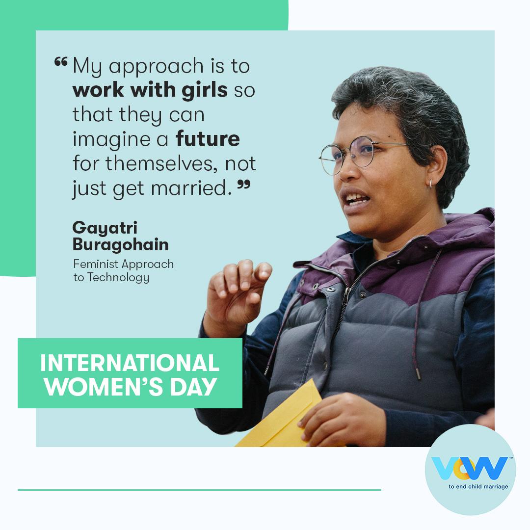 photo of Gayatri Buragohain, Founder and Executive Director, Feminist Approach to Technology