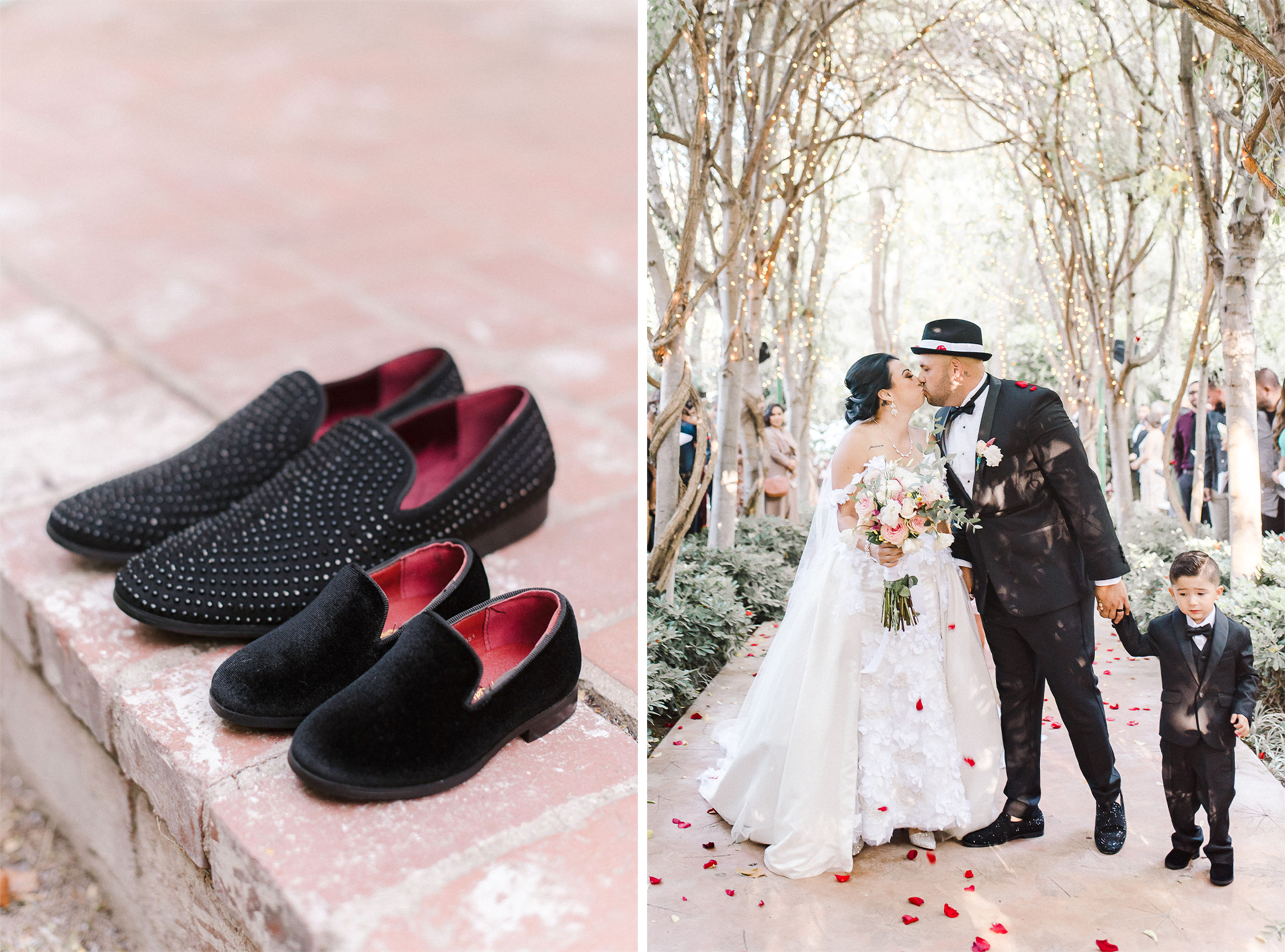 Matching Father/Son Wedding Shoes
