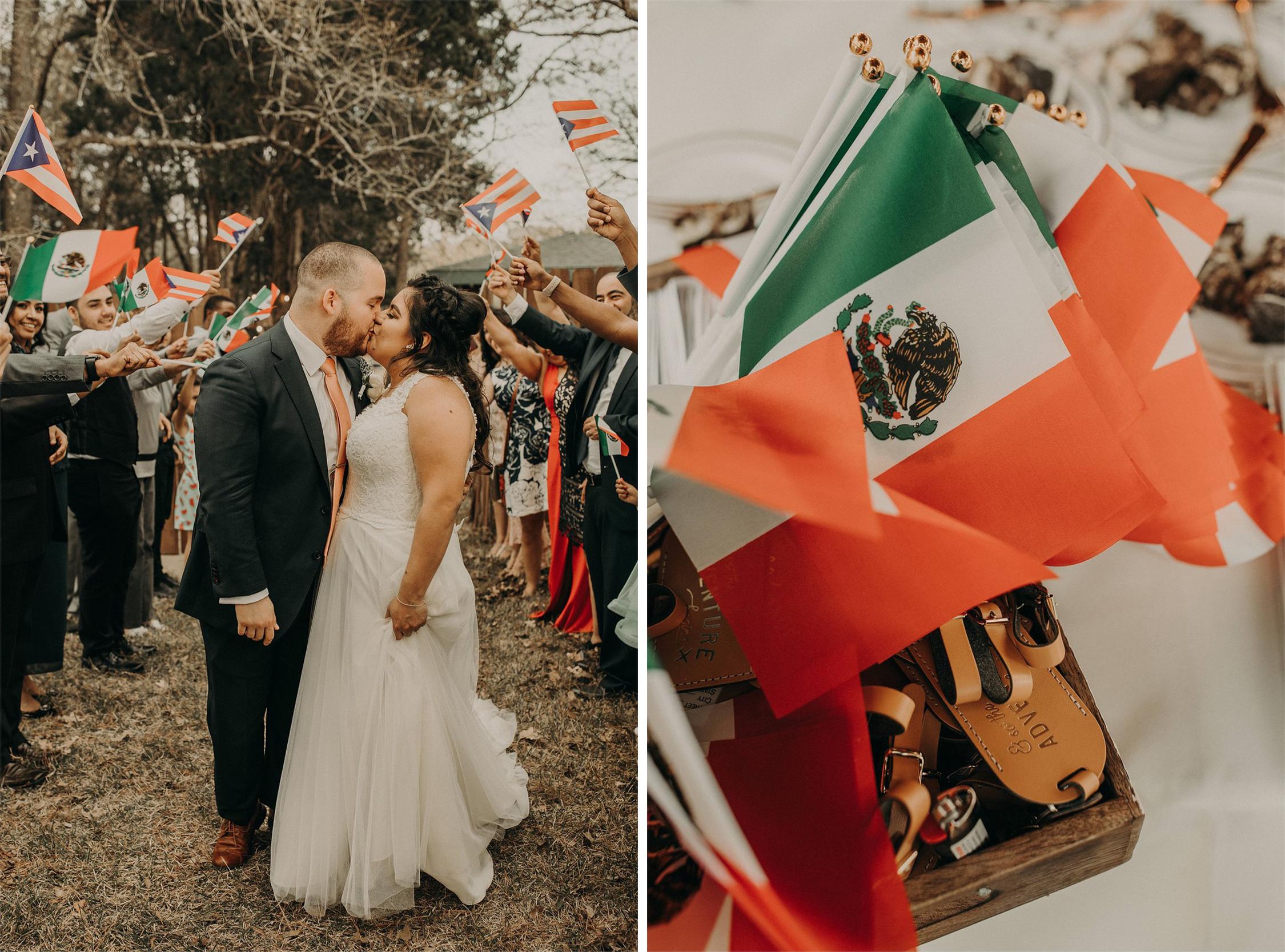 Mexico Flag Favors