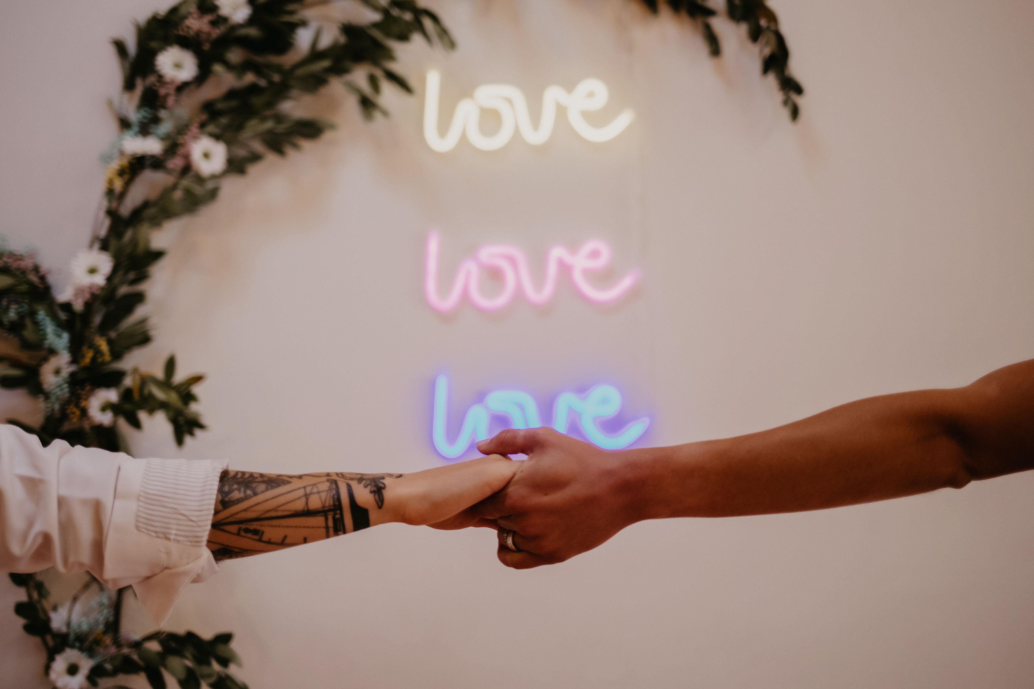 Love Love Love Sign