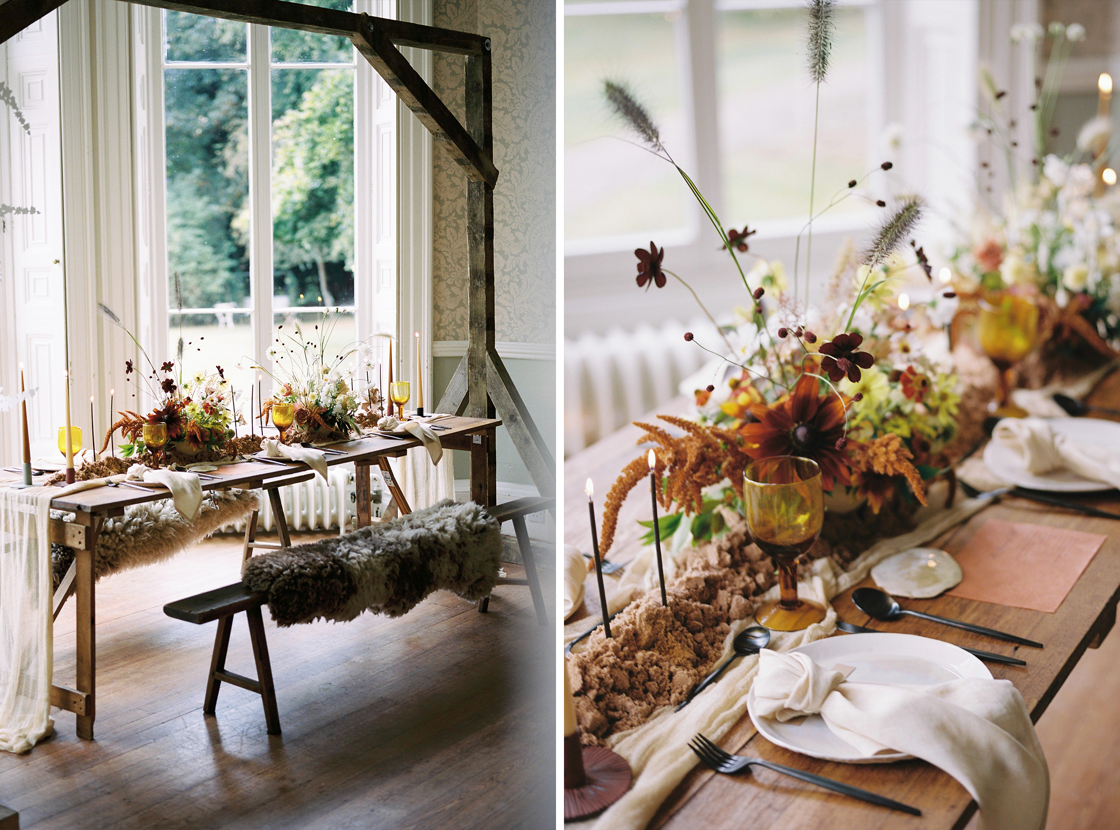 Tablescape and florals