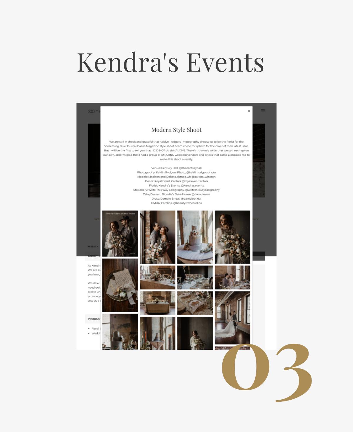 Kendra's Events