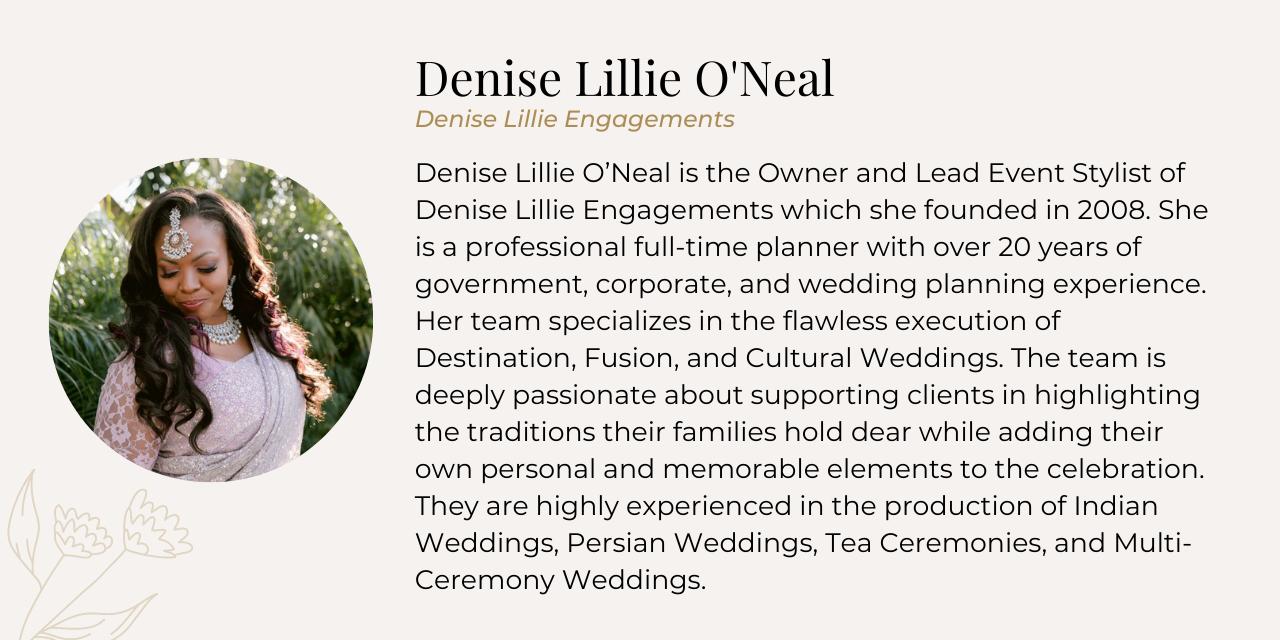 Denise bio