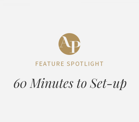 60 Minutes to Set-up Your Aisle Planner Account
