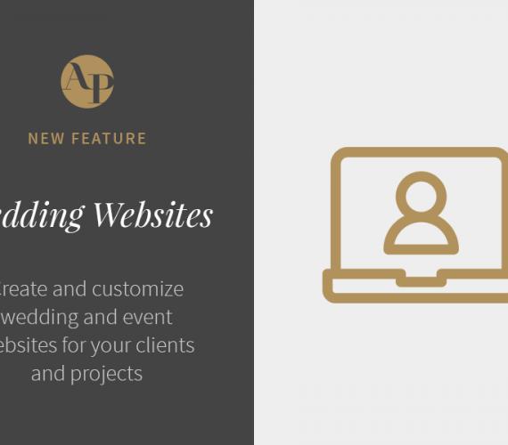 Introducing Wedding Websites