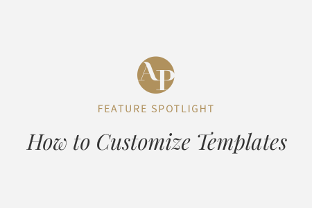 How to Customize Your Aisle Planner Templates