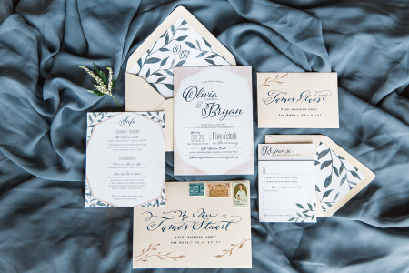 How to Style an Invitation Suite