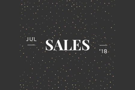 Editor's Letter: Sales