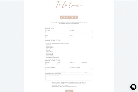 Introducing Customizable Lead Contact Forms