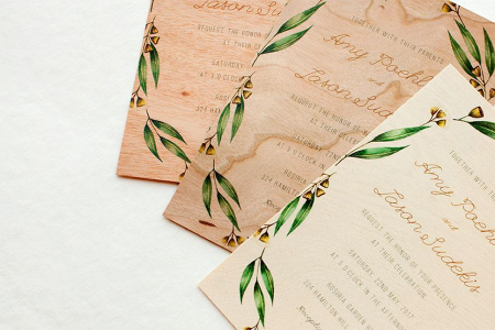 The Wedding Planner's Guide to Wedding Invitation Print Types