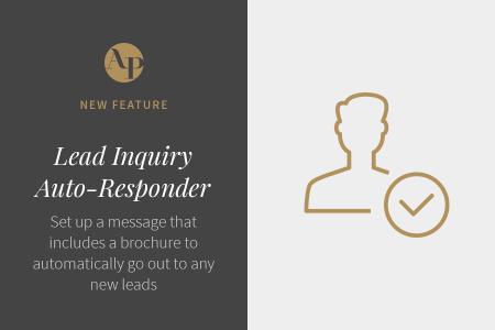 Introducing Lead Inquiry Auto-Responders