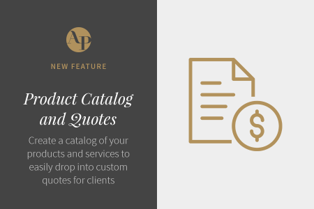 Introducing Product Catalogs and Quotes