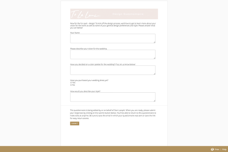 Feature Spotlight: The Benefits of Aisle Planner Questionnaires