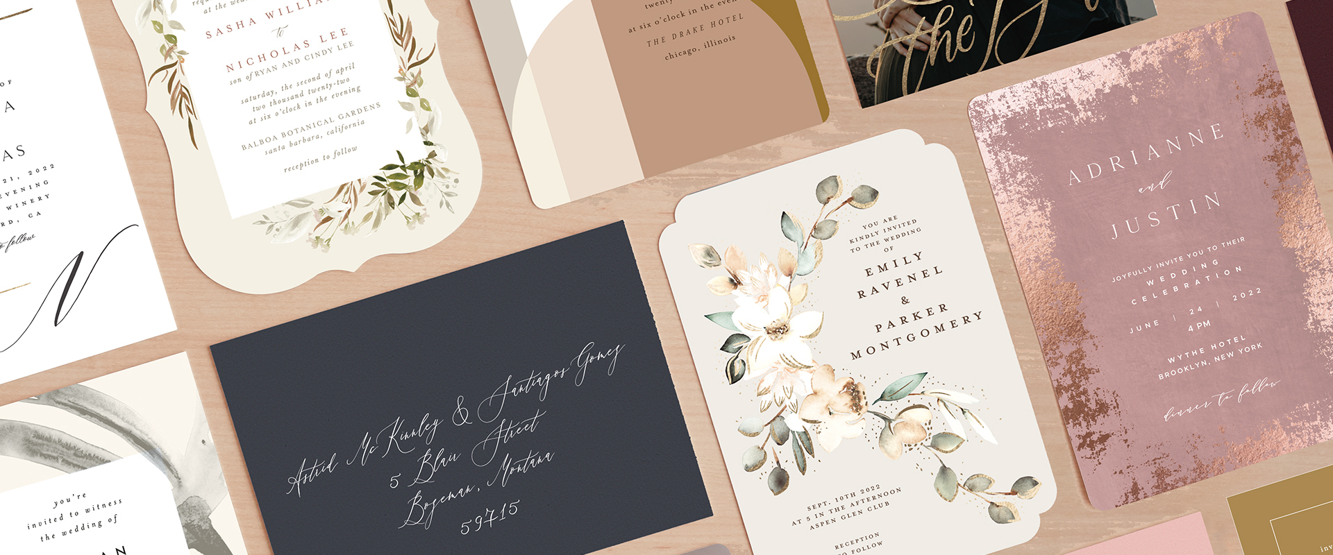 Wedding Invitations from Minted