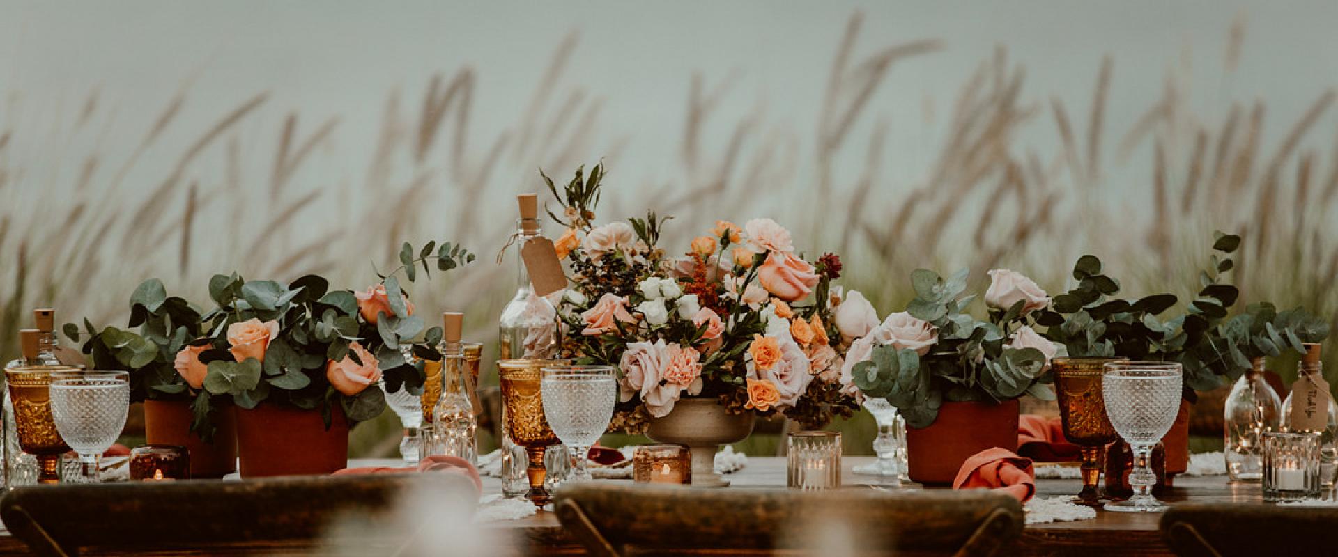 Beautiful Boho Beach Wedding