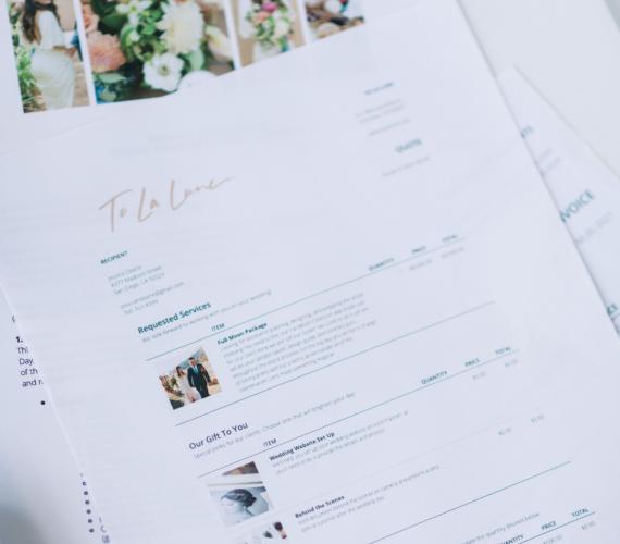 Aisle Planner Invoice