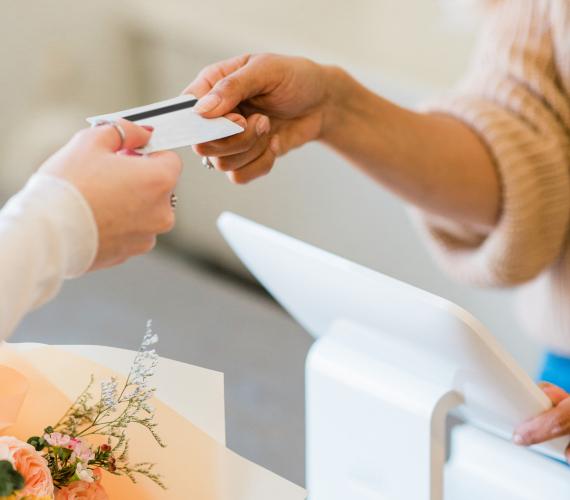 A card payment transaction