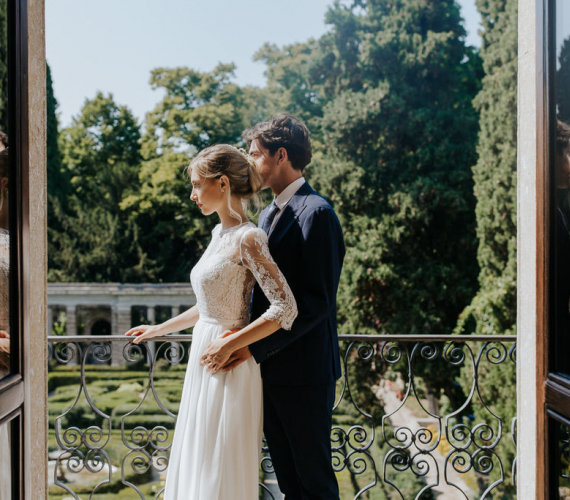 Italian Garden Wedding at Villa Miralfiore