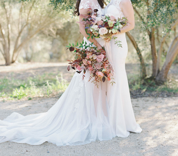 Romantic Fall Wedding at Rancho Valencia