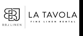 BBJ Linens La Tavola logo