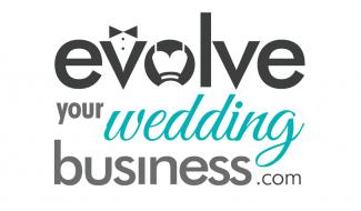 evolve your wedding business logo