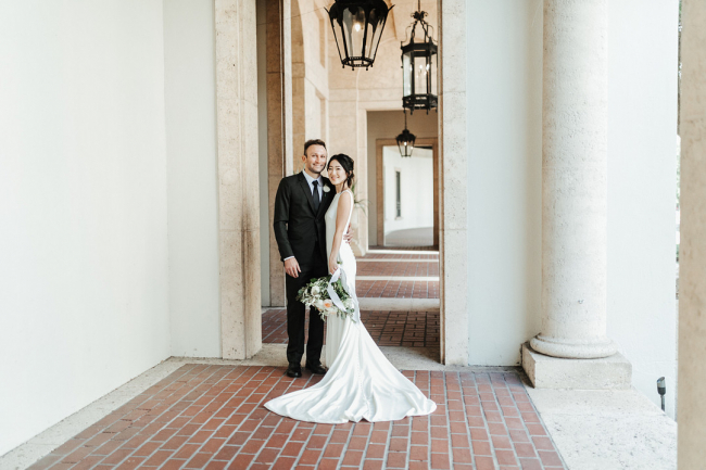 Newlyweds at Museum
