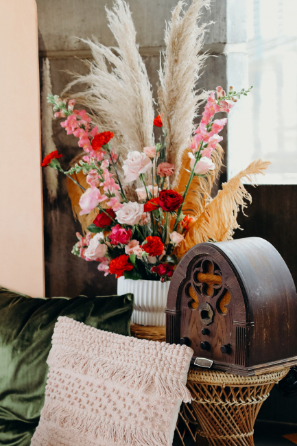 floral décor