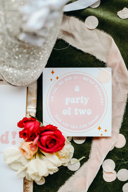 a party of two note