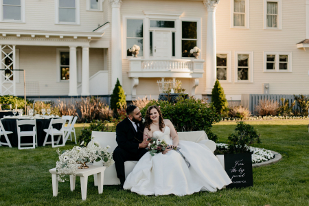 An Intimate Hollywood Vintage Wedding at Moore Mansion