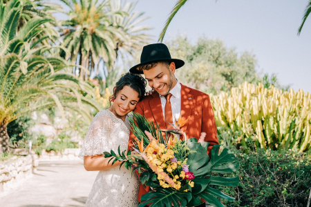 Boho Botanical Wedding Inspiration
