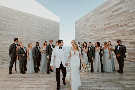 Wedding Party in Mexico