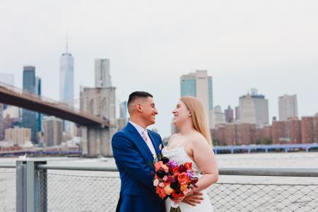 Intimate Micro Wedding on the Brooklyn Heights Promenade