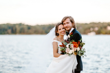 Newlyweds on the Water